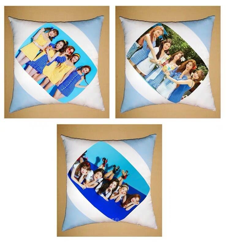 Red Velvet周邊團體款高清美圖雙面美圖抱枕款