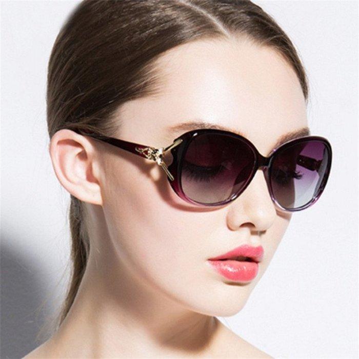 太陽鏡 2019時尚新款狐貍頭女士太陽鏡 明星款大框太陽眼鏡爆款墨鏡