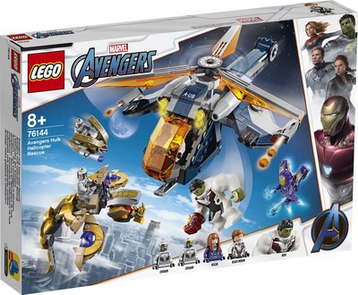 【鄭姐的店】樂高 76144 SUPER HEROES 系列 - Avengers Hulk Helicopter Re
