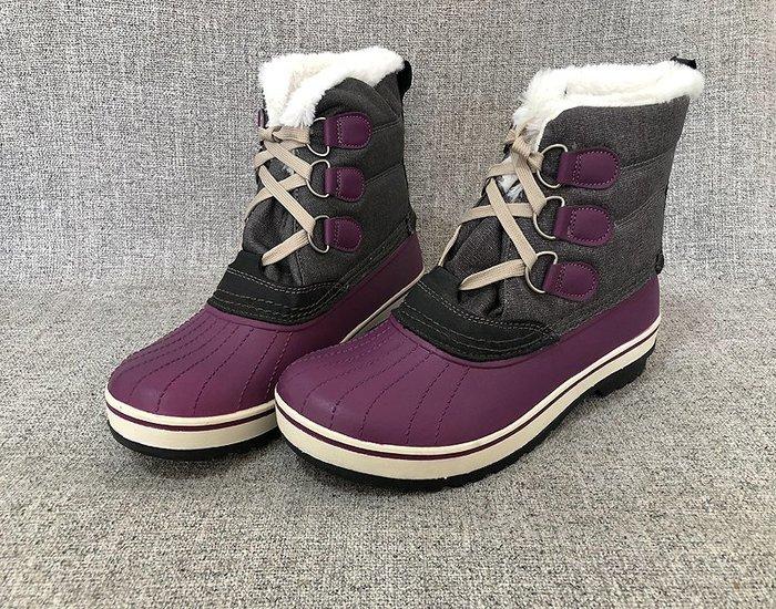 東大門平價鋪    2019冬季戶外加絨保暖雪地靴,男士中筒防水防滑加絨保暖男靴
