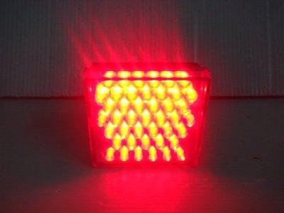 小傑車燈家族☆全新civic 8代  civic 8 RR後保桿led雙功能爆閃煞車燈 mazda3 fit focus