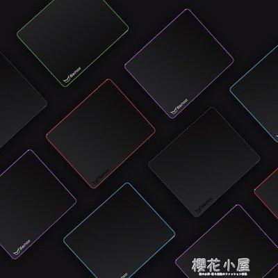 Seihoo磨砂樹脂面硬質滑鼠墊塑料大號游戲電競辦公個性小號滑鼠墊CXZJ