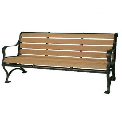 【紅豆戶外休閒傢俱】塑木三人公園椅/休閒傢俱/鑄鐵長椅/實木桌椅/實木椅/公園桌椅/實木桌椅/庭園咖啡桌椅/陽台桌椅