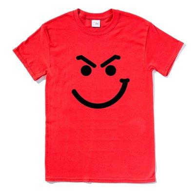 Bon Jovi Smirk 短袖T恤 紅色 邦橋飛 樂團 金屬 rock metal heavy 設計 亞版