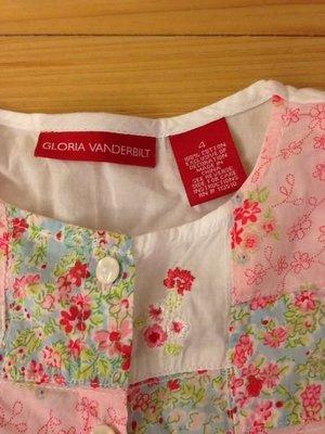 美國品牌 Gloria Vanderbilt 上衣 $690免運 購入約二千 極新 舒適有型