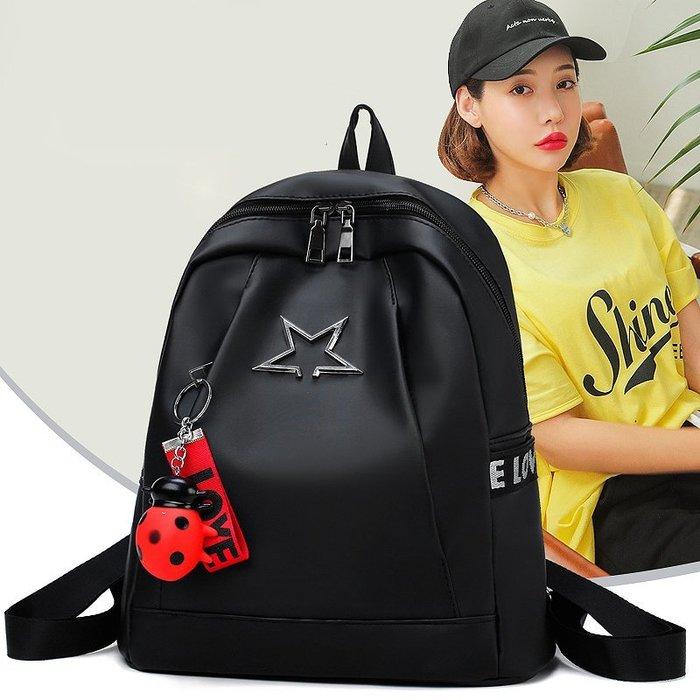 999後背包雙肩包女2018新款韓版時尚百搭書包牛津布帆布旅行小背包女包包