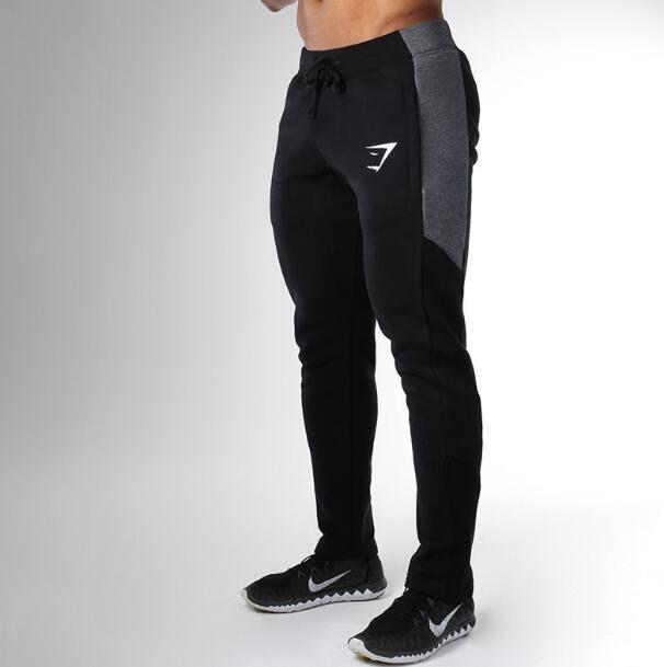 肌肉兄弟運動褲子 長褲男式跑步健身訓練褲休閑衛褲—莎芭