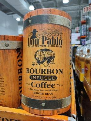 代購好市多COSTCO 商品~DON 波本威士忌咖啡豆 708公克/罐