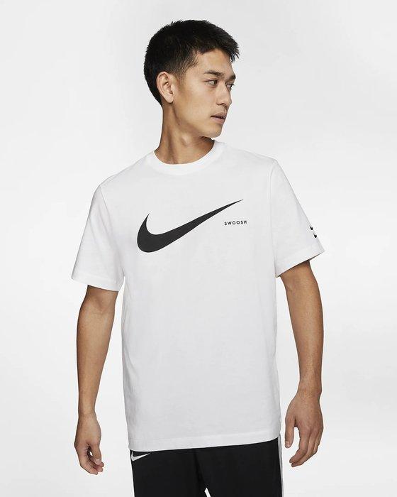 GOSPEL【 Nike Sportswear Swoosh Tee 】白色 雙勾 短袖 CK2253-100