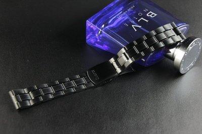 168錶帶配件 /黑色真空離子電鍍sea master海馬風格20mm不鏽鋼製錶帶非烤漆,seiko citizen