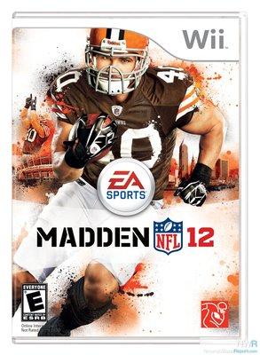 【二手遊戲】Wii 勁爆美式足球12 MADDEN 12 NFL 英文版【台中恐龍電玩】