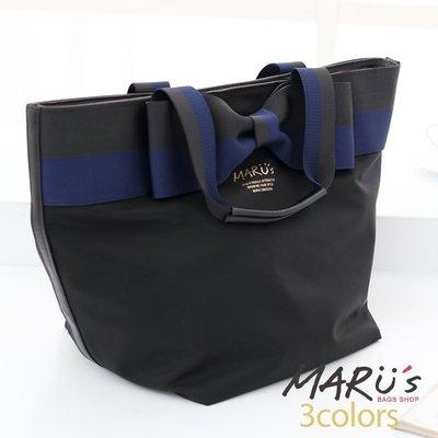 MARU`S BAGS SHOP風格尼龍蝴蝶結手提包 [LG-680]水餃包anello