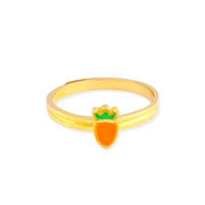 【JHT 金宏總珠寶/GIA鑽石】0.77錢 胡蘿蔔黃金戒指 (請詳閱商品描述)