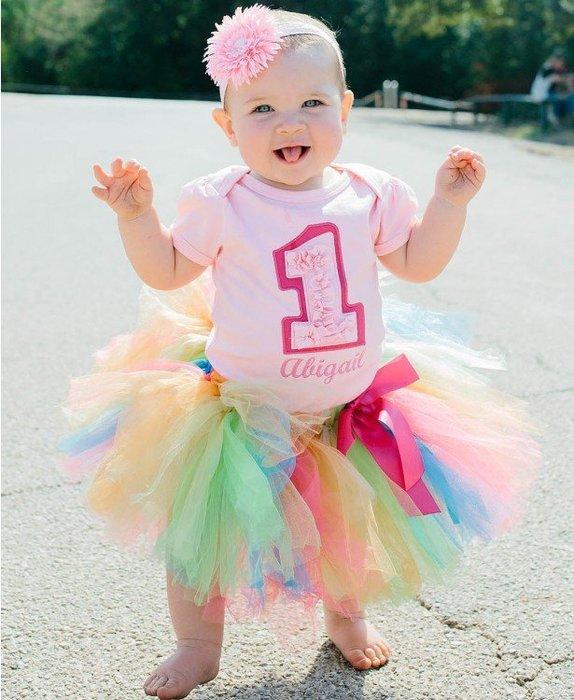 ❤Shopaholic❤美國RuffleButts 甜心寶貝Sweet Birthday生日套裝(周歲派對好幫手)