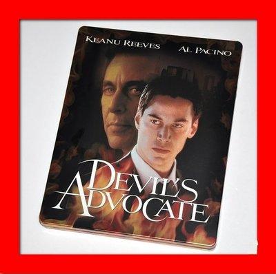 【BD藍光】 魔鬼代言人:限量鐵盒版The Devil`s Advocate(台灣繁中字幕)駭客任務基努李維