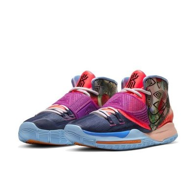 【C.M】 Nike Kyrie 6 Pre Heat Heal the World CQ7634-403 KI6
