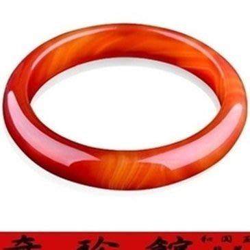 紅瑪瑙手鐲手圍18.5~21A貨-開運避邪投資增值[附保證書][奇珍館]62a1