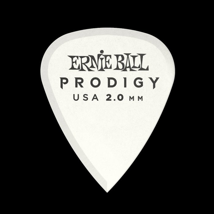 ☆唐尼樂器︵☆ Ernie Ball 9202 Prodigy Standard 2.00mm 白色 吉他彈片 Pick
