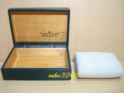 :: NiKo HoUsE ::【ROLEX 勞力士】原廠老錶盒 / 綠色D-1