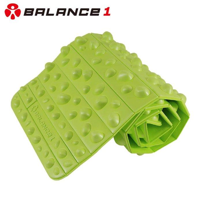 衝評價《 BALANCE 1 》足部按摩健康步道(綠色)