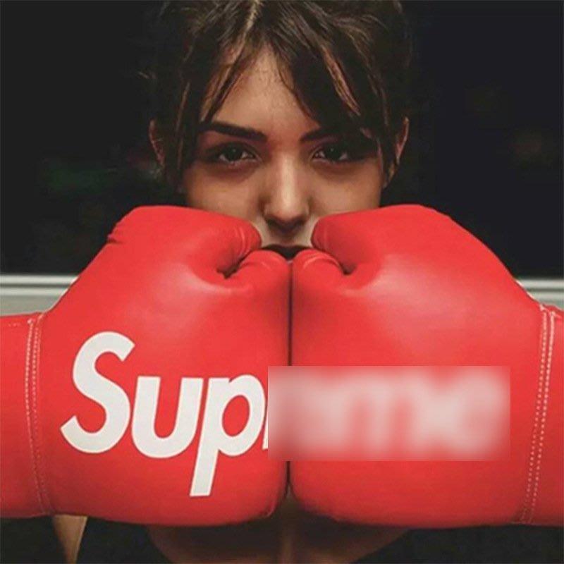 SUP boxing拳擊手套成人加厚散打搏擊男女INS拳套拍照擺件裝飾潮 雲上仙