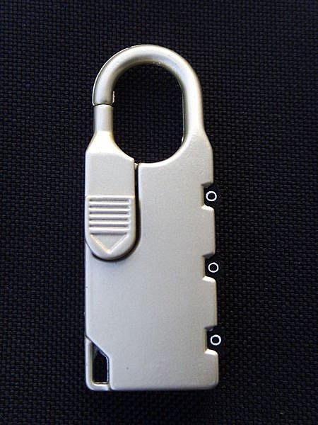 《葳爾登》登機箱號碼鎖/行李箱迷你鎖/拉桿箱密碼鎖/防盜鎖頭/旅行箱鎖/防惡人栽贓