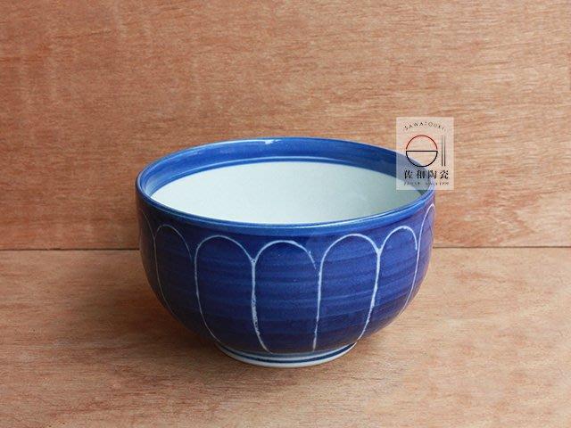 +佐和陶瓷餐具批發+【XL080438-5 青菊紋4吋井-日本製】日本製 井 缽 湯碗 飯碗 分享缽 家用碗
