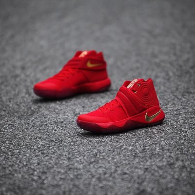 Nike Kyrie-Irving-2 LMTD 838639-676全紅金厄文中國CNY奧運金牌美國夢幻隊NBA總冠軍