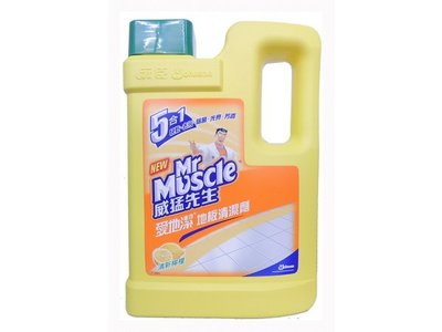 【B2百貨】 威猛先生愛地潔地板清潔劑-清新檸檬(2000ml) 4710314226480 【藍鳥百貨有限公司】