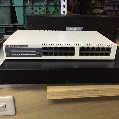 Buffalo LSW3-GT-24NSR 24埠 Gigabit 網路交換器 新北市