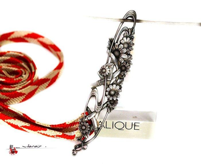 銀囍古董銀飾--老銀手環 銀手鍊 雛菊花腰帶 腰飾 項鍊 項飾1 適合佩戴  收藏典藏品