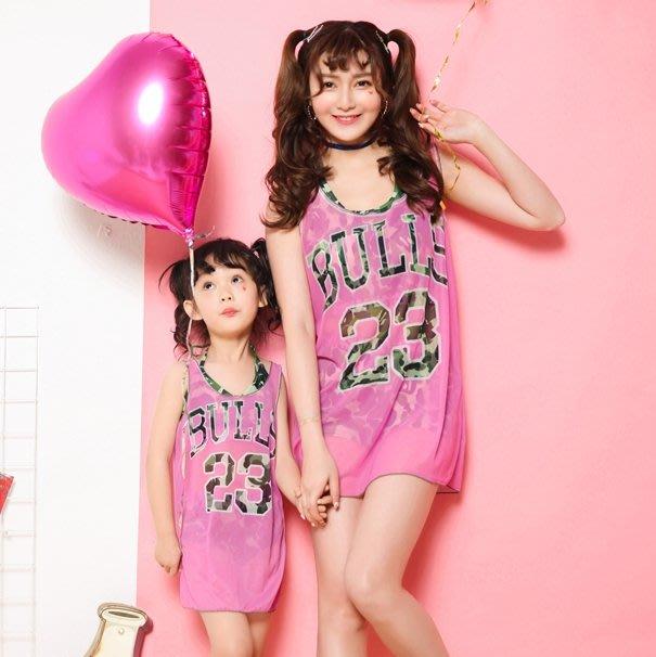 【小阿霏】成人媽咪款 兩色親子泳衣 迷彩運動風罩衫三件式高腰比基尼溫泉泳裝 母女姐妹家庭泳裝SW158