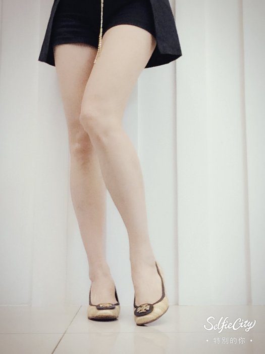 *Beauty*TORY BURCH編織皮革滾邊楔型鞋 6M CR
