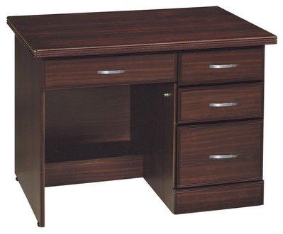 【浪漫滿屋家具】(Gp)559-1 胡桃3.5尺書桌