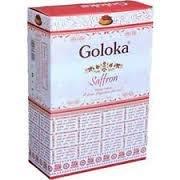 [綺異館] 印度線香 Goloka Saffron 蕃紅花 3盒100 售印度香皂