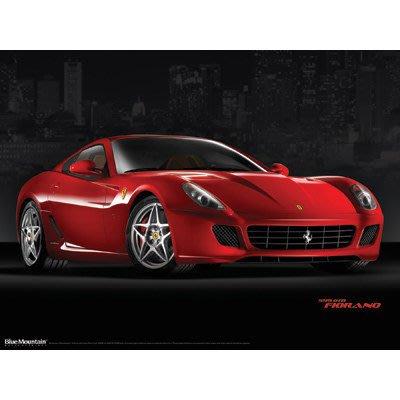 TAIWANSPEED極速台灣賽車時尚-Ferrari 599GTB壁飾-超跑車商裝潢最愛-促銷~