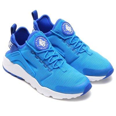 =CodE= NIKE W AIR HUARACHE RUN ULTRA 武士慢跑鞋(藍白)819151-400 男女