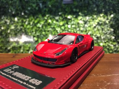 1/43 OneByOne LB-WORKS Ferrari 458 Red LBA101RE【MGM】