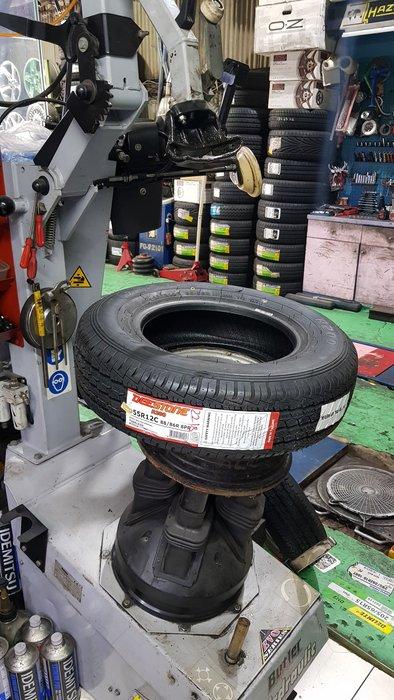 貨車新胎 155R12C 安靜貨車胎 12吋貨車胎 1688元