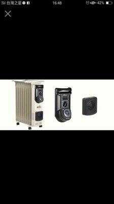 【全揚】【北方】電暖器 9葉片式恆溫電暖爐【NP-09ZL】德國原裝進口【中壢店=實體店面】