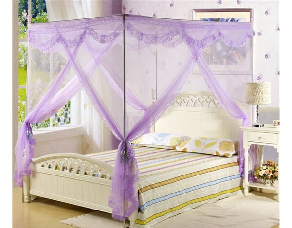 宮廷風落地公主蚊帳 雙人加大:約180×200(cm)     嬰兒床藤蓆 涼蓆 床墊涼被被套床罩枕頭