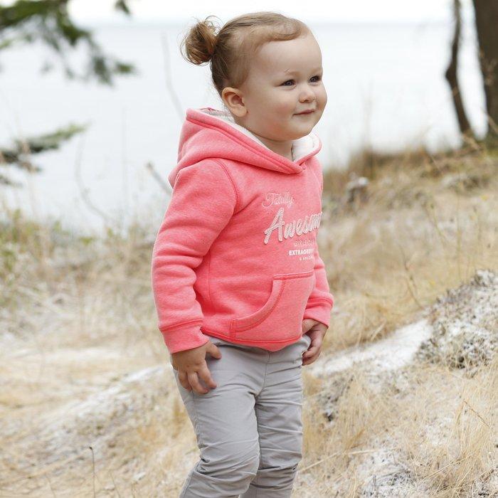 【Nichole's歐美進口優質童裝】Carter's 女童 超保暖夏爾巴滾毛邊連帽刷毛長袖上衣/T恤