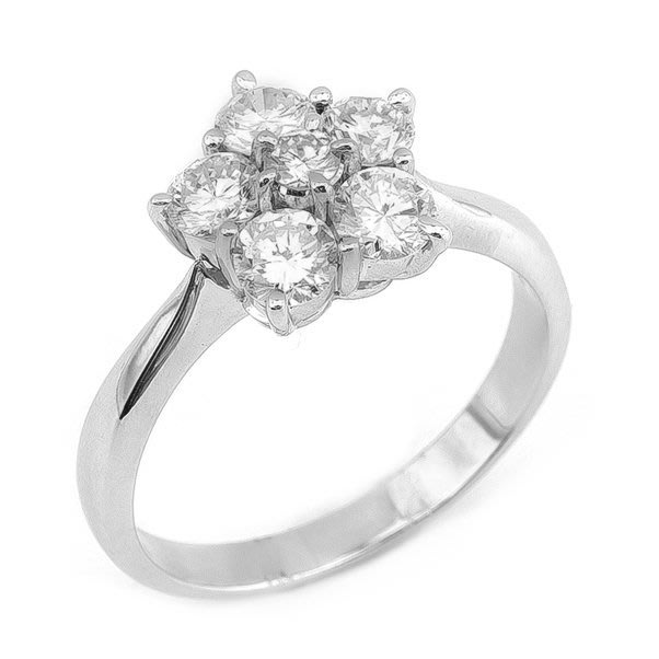 【JHT 金宏總珠寶/GIA鑽石專賣】1.00ct天然鑽石戒指/材質:PT900(JB35-B08)