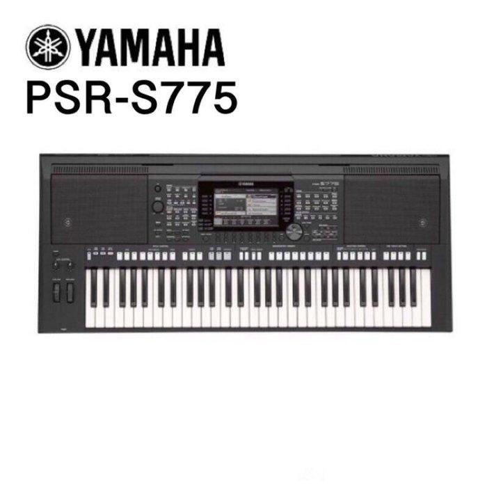 ☆唐尼樂器︵☆免卡免利息分期實施中 YAMAHA PSR-S775 職業樂手專用自動伴奏電子琴(附贈全套配件)