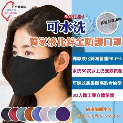 多件優惠❗️現貨❗️液化鋅防護防潑水口罩(2片入)『大人尺寸』