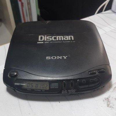 Sony Discman CD隨身聽 D-131 懷舊 收藏