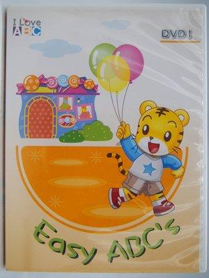 【月界2】Easy ABC's-I Love ABC DVD 1(絕版)_可愛巧虎島影片DVD光碟 〖少年童書〗CFD 桃園市
