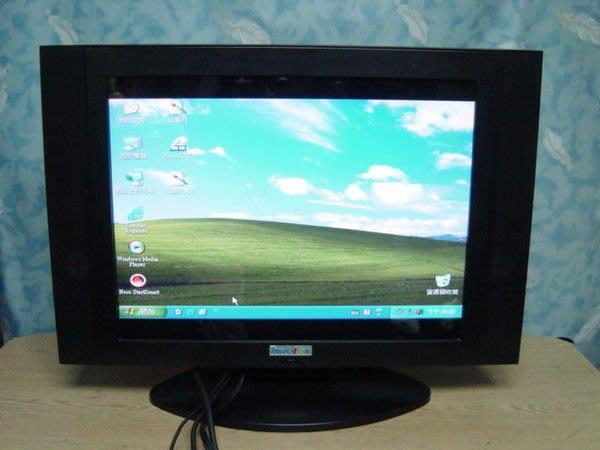 Y保固3個月【小劉二手家電】INNOLUX 19吋鏡面電腦液晶螢幕/液晶電視,壞機可修/抵!