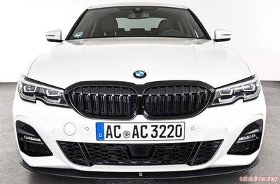 德國進口BMW原廠G20 G21 3er高亮黑水箱罩 M Performance Shadowline黑鼻頭