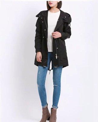 【喬喬本舖】秋冬中長款風衣外套 長版連帽外套 軍裝外套  MONCLER  3色 C011